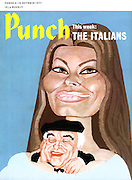 Punch (front cover, 6 October 1971)