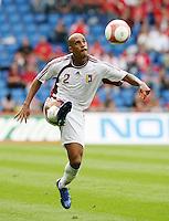 Fussball International Laenderspiel Schweiz - Venezuela Luis VALLENILLA (VEN)