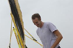 15-08-2006 VOLLEYBAL: BEACHVOLLEYBAL TEAM SCHUIL NUMMERDOR: SCHEVENINGEN<br /> Training van beachteam Richard Schuil en Reinder Nummerdor<br /> ©2006-WWW.FOTOHOOGENDOORN.NL