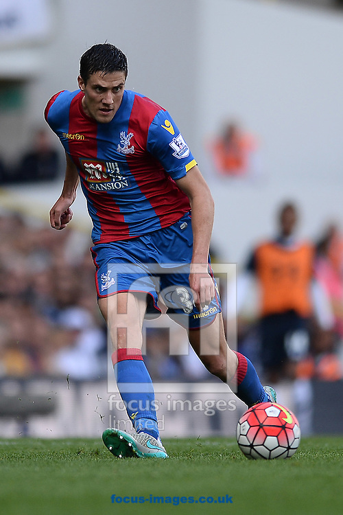 Martin Kelly of Crystal Palace during the Barclays Premier League match between Tottenham Hotspur and Crystal Palace at White Hart Lane, London<br /> Picture by Richard Blaxall/Focus Images Ltd +44 7853 364624<br /> 20/09/2015