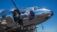 DC-3 at Warbirds Over the West.