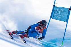 15.02.2018, Yongpyong Alpine Centre, Yongpyong, KOR, PyeongChang 2018, Ski Alpin, Damen, Riesenslalom, im Bild Sofia Goggia (ITA) // Sofia Goggia of Italy during the Ladies Alpine Giant Slalom Race of the Pyeongchang 2018 Winter Olympic Games at the Yongpyong Alpine Centre in Yongpyong, South Korea on 2018/02/15. EXPA Pictures © 2018, PhotoCredit: EXPA/ Johann Groder