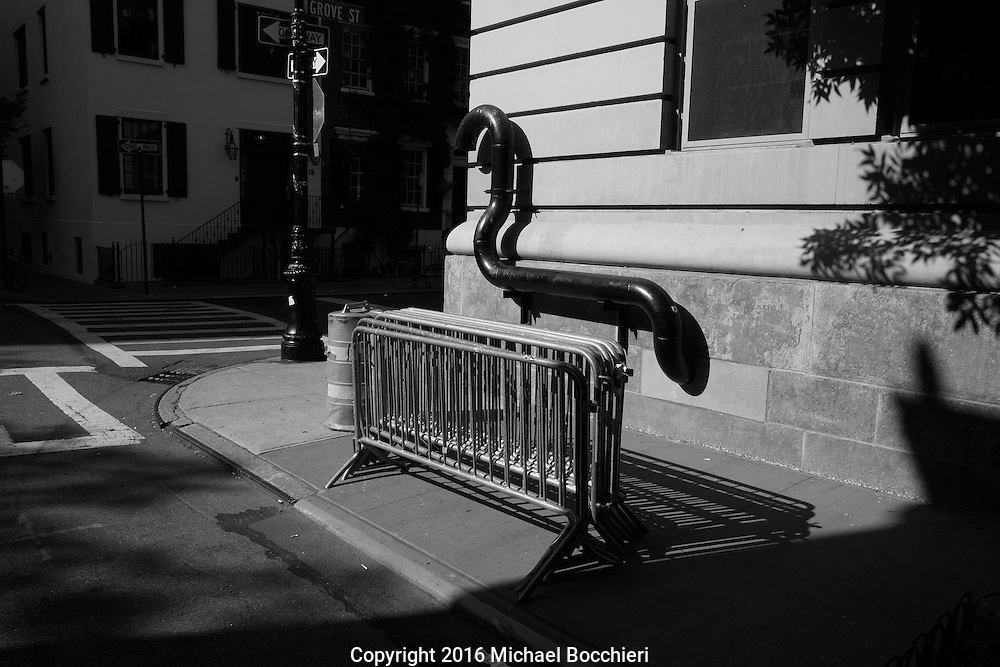 NEW YORK, NY - June 26:  Street abstract on June 26, 2016 in NEW YORK, NY.  (Photo by Michael Bocchieri/Bocchieri Archive)