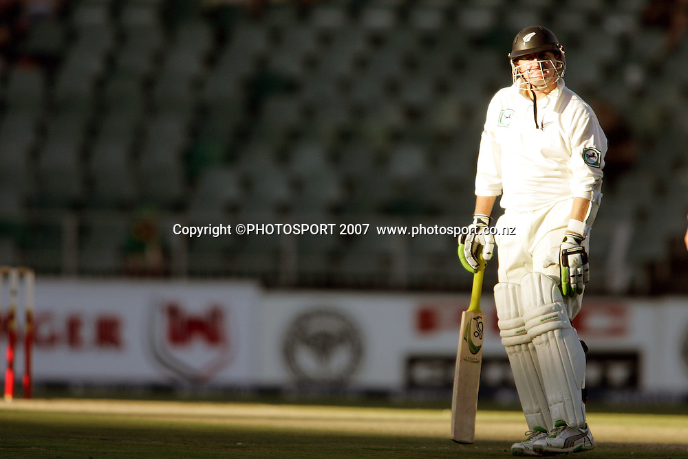 South Africa v New Zealand. International cricket 1st Test. Scott Styris at the New Wanderers Stadium, Johannesburg, South Africa. Saturday 10 November 2007. Photo: Ron Gaunt/PHOTOSPORT