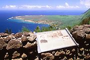 Kalaupapa Lookoput, Molokai, Hawaii