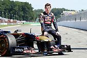 Max Verstappen op Gamma Racing Day