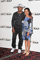 HAMMERSMITH - JULY 19: Chuck D; Gaye Theresa Johnson attended the European Premiere of 'Something from Nothing: The Art of Rap' at the Hammersmith Apollo, London, UK. July 19, 2012. (Photo by Richard Goldschmidt)