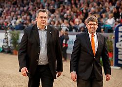 Studt Stefan, Dr Brandt Michael <br /> Grand Prix <br /> FEI World Cup Neumünster - VR Classics 2017<br /> © Hippo Foto - Stefan Lafrentz