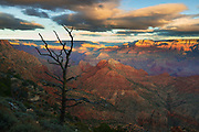 Sunrise from Desert View on the South Rim of Grand Canyon National Park.