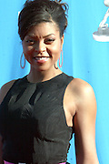 Taraji P. Henson arriving at The 39th Annual NAACP IMAGE AWARDS held at the Shrine Auditorium in Los Angeles, Calaifornia on February 14, 2008
