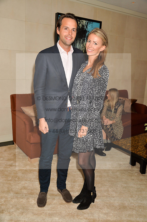 CHARLIE & ANNEKE GILKES at the Louis Vuitton for Unicef Event #MAKEAPROMISE held at The Apartment, 17-20 New Bond Street, London on 14th January 2016.