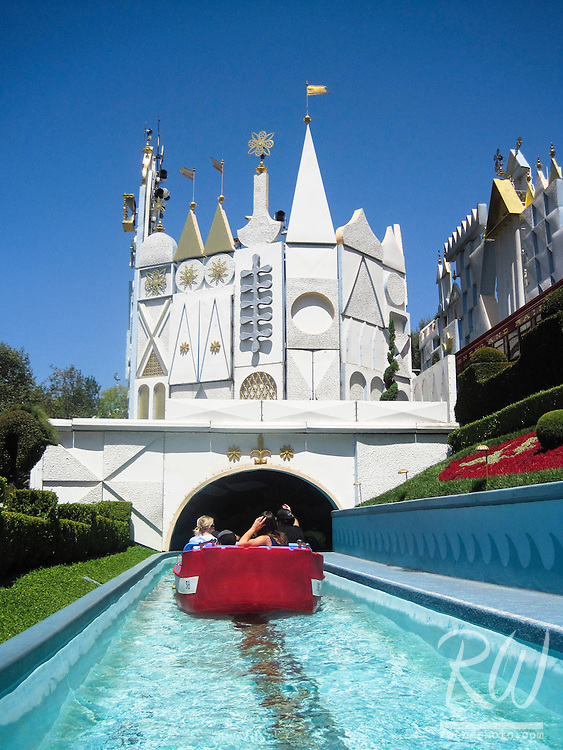 It's a Small World Ride at Disneyland, Anaheim, California