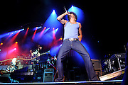 Kid Rock performing at Verizon Wireless Amphitheater in St. Louis, Missouri on July 16, 2011. © Todd Owyoung.