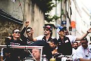 June 12-17, 2018: 24 hours of Le Mans. 8 Toyota Racing, Toyota TS050 Hybrid, Sebastien Buemi, Kazuki Nakajima, Fernando Alonso,  7 Toyota Racing, Toyota TS050 Hybrid, Mike Conway, Kamui Kobayashi, Jose Maria Lopez