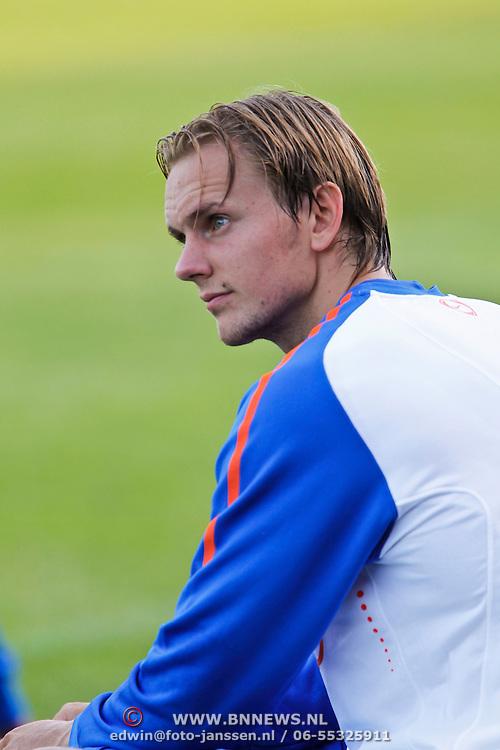NLD/Katwijk/20100809 - Training van het Nederlands elftal, Siem de Jong