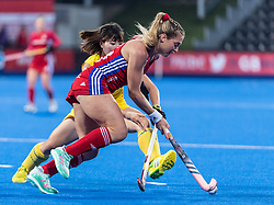 Suzy Petty of Great Britain Women during the 2019 Women's FIH Pro League match at Lee Valley Hockey Centre, Stratford<br /> Picture by Simon Parker/Focus Images Ltd <br /> 03/05/2019