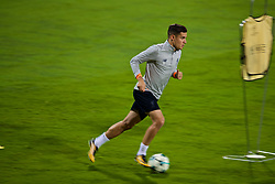 MARIBOR, SLOVENIA - Monday, October 16, 2017: Liverpool's Philippe Coutinho Correia during a training session ahead of the UEFA Champions League Group E match between NK Maribor and Liverpool at the Stadion Ljudski vrt. (Pic by David Rawcliffe/Propaganda)