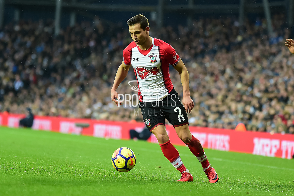 Southampton defender Cedric Soares (2) during the Premier League match between West Bromwich Albion and Southampton at The Hawthorns, West Bromwich, England on 3 February 2018. Picture by Dennis Goodwin.