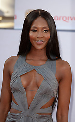 Naomi Campbell arrives for the BAFTA TV Awards at the Theatre Royal, London, United Kingdom. Sunday, 18th May 2014. Picture by Andrew Parsons / i-Images