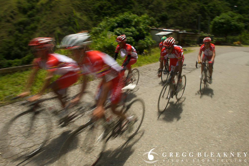 Colombia es Pasion Team Training Ride (2009) - Medellin - Colombia