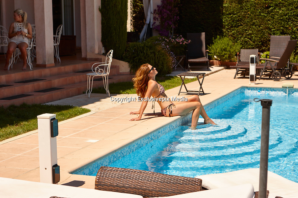 Made in Chelsea Star Binky Felstead looking stunning in Bikini while on holiday in Cannes<br /> &copy;Exclusivepix Media