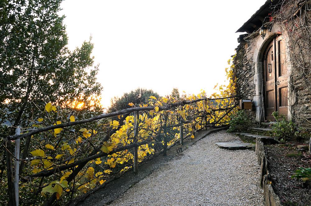 France, Languedoc Roussillon, Lozère, Cévennes, Saint-Julien-des-Points, monastère orthodoxe, Skite Sainte Foy