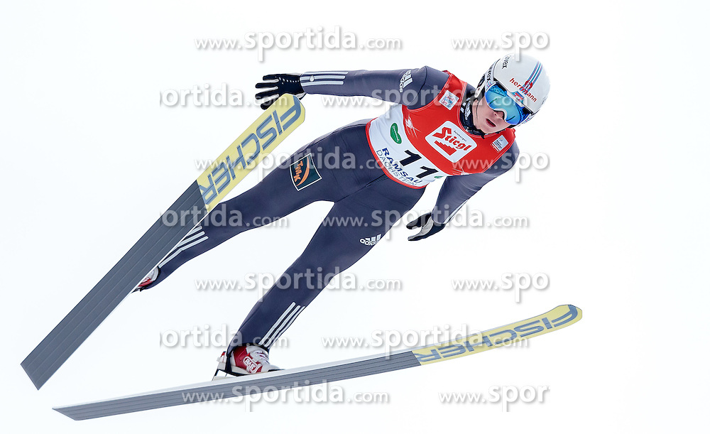 18.12.2016, Nordische Arena, Ramsau, AUT, FIS Weltcup Nordische Kombination, Skisprung, im Bild Viacheslav Barkov (RUS) // Viacheslav Barkov of Russian Federation during Skijumping Competition of FIS Nordic Combined World Cup, at the Nordic Arena in Ramsau, Austria on 2016/12/18. EXPA Pictures © 2016, PhotoCredit: EXPA/ JFK