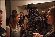 DANIEL LISMORE; CHARLOTTE CHURCH, Sorapol Ollin Atelier and Pret a Porter Presentation. Strand Gallery.  32 john Adam St. WC2. London. 20 February 2015