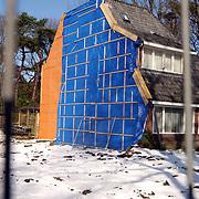 Naarderstraat 286 Huizen, huis afgebroken met asbest