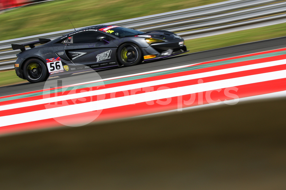 Tolman Motorsport McLaren 570S GT4 with drivers David Pattison & Joe Osborne during the British GT And BRDC British F3 Championships at the Snetterton Circuit, Norwich, England on 28 May 2017. Photo by Jurek Biegus.