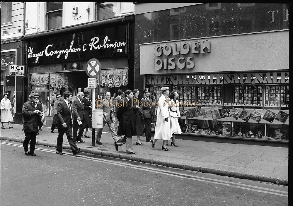 Queen Margrethe II Denmark Shops in Dublin 27/04/1978