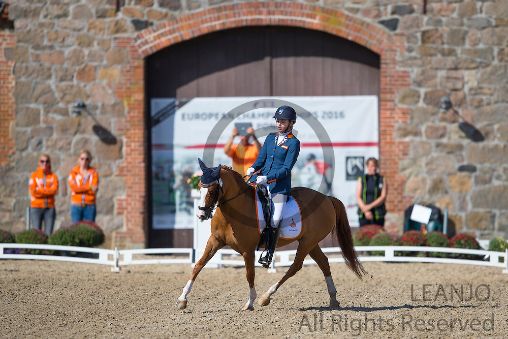 Jitske Prosman - Charina du Bois<br /> FEI European Championships Ponies 2016<br /> &copy; DigiShots