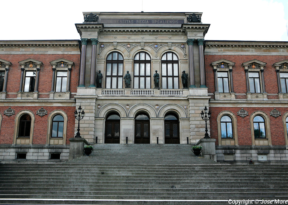 Uppsala University the oldest center of higher education in Scandinavia.<br /> Photography by Jose More
