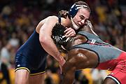 NCAA Big Ten Championship wrestling in Minneapolis, Minnesota, Saturday, March 9, 2019.