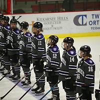 Women's Ice Hockey: University of Wisconsin-River Falls Falcons vs. University of St. Thomas (Minnesota) Tommies