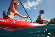 Snorkeling in the Virgin Islands.