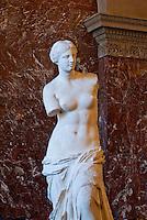 Statue of the Venus de Milo, Louvre Gallery