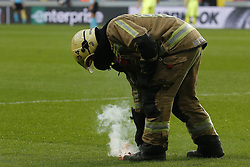 October 4, 2018 - France - fireman in action (Credit Image: © Panoramic via ZUMA Press)