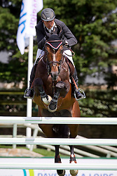 Lamaze Eric (CAN) - Hickstead<br /> Winner of the Grand Prix Longines de la ville de La Baule<br /> CSIO La Baule 2011<br /> © Dirk Caremans
