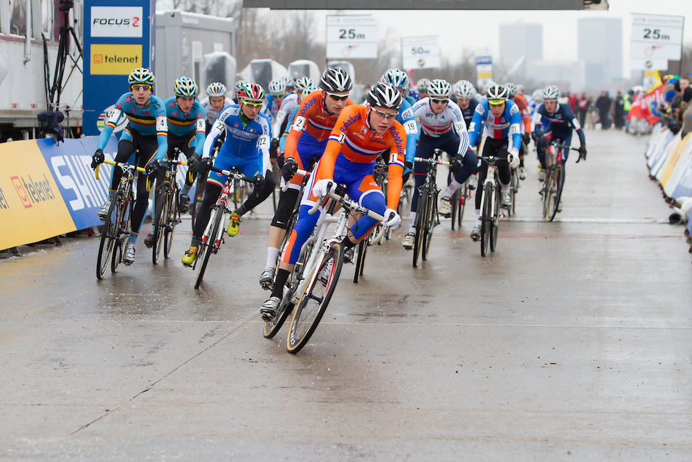 2013 Junior Cyclocross World Championship.  ©Brian Nelson