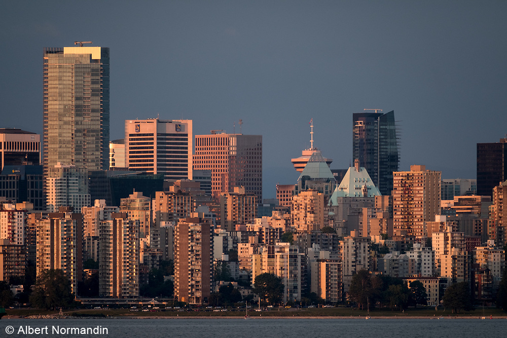 City of Vancouver skyline, English Bay, Vancouver