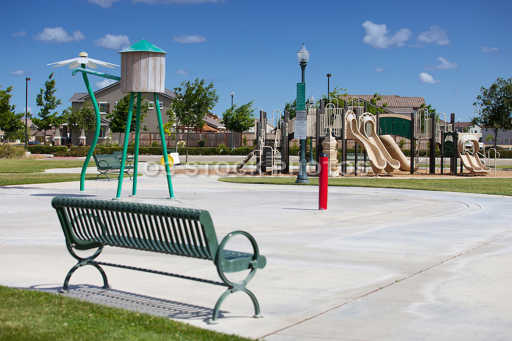 Kids Playground Equipment at Mossdale  Landing Community Park
