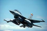 F-16 Falcon taking off