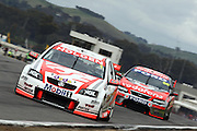Garth Tander of the Holden Racing Team on the way to winning the Winton 400  ~ V8 Supercar Series Round 9 at Winton Motor Raceway, Victoria Australia on Sunday 3rd August 2008. Photo: Clay Cross/PHOTOSPORT