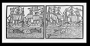 Ships of the Duke of Buckingham's Fleet, 1617. Hoping to gain popularity at home, Buckingham set out to relieve the French Huguenots under siege at La Rochelle. The failure of this expensive enterprise overwhelmed Charles I with debt and forced him to call a Parliament.