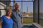 Richard and Robin Kinley from Atlanta bought the first home at Babcock Ranch is America's first solar powered eco-town. 170 miles NW of Miami, near Fort Myers it is estimated to grow to  population of 50,000 people. Like a small town it will have its own schools offices and medical facilities as well as shops and restaurants.<br /> Syd Kitson, the founder was a former NFL football player turned property developer.