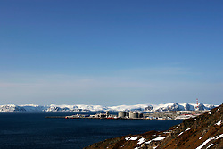 Norway Hammerfest 24MAR07 - General view of gas plant on Melkoya island near Hammerfest, the world's most northerly town...jre/Photo by Jiri Rezac..© Jiri Rezac 2007..Contact: +44 (0) 7050 110 417.Mobile:  +44 (0) 7801 337 683.Office:  +44 (0) 20 8968 9635..Email:   jiri@jirirezac.com.Web:    www.jirirezac.com..© All images Jiri Rezac 2007 - All rights reserved.