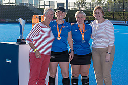 Harleston Magpies v Canterbury - Investec Women's O35s T1 Final, Lee Valley Hockey & Tennis Centre, London, UK on 05 May 2018. Photo: Simon Parker