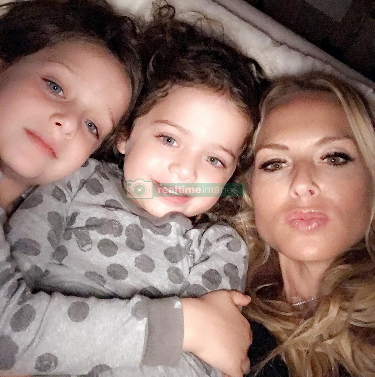 "Rachel Zoe releases a photo on Instagram with the following caption: ""My Saturday night #momlife #reallife #skyandkaius\ud83d\udc99\ud83d\udc7c"". Photo Credit: Instagram *** No USA Distribution *** For Editorial Use Only *** Not to be Published in Books or Photo Books ***  Please note: Fees charged by the agency are for the agency's services only, and do not, nor are they intended to, convey to the user any ownership of Copyright or License in the material. The agency does not claim any ownership including but not limited to Copyright or License in the attached material. By publishing this material you expressly agree to indemnify and to hold the agency and its directors, shareholders and employees harmless from any loss, claims, damages, demands, expenses (including legal fees), or any causes of action or allegation against the agency arising out of or connected in any way with publication of the material."