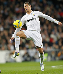 28.01.2012, Santiago Bernabeu Stadion, Madrid, ESP, Primera Division, Real Madrid vs Real Saragossa, 21. Spieltag, im Bild Real Madrid's Cristiano Ronaldo // during the football match of spanish 'primera divison' league, 21th round, between Real Madrid and Real Saragossa at Santiago Bernabeu stadium, Madrid, Spain on 2012/01/28. EXPA Pictures © 2012, PhotoCredit: EXPA/ Alterphotos/ Cesar Cebolla..***** ATTENTION - OUT OF ESP and SUI *****
